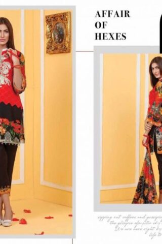 Ayesha Zohaib Embroidered Unstitched 3pcs Linen Vol 1 02.02