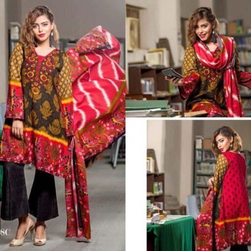 lala-printed-khaddar-unstitched-3pcs-18c