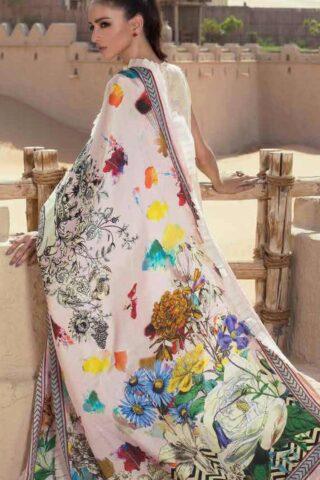 Teena Durrani Fomals Embroidered Jacquard 2017 ANATOLIA PINK 06A