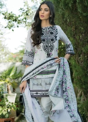 Sahil Designer Embroidered Cotton Collection Vol 14 09A