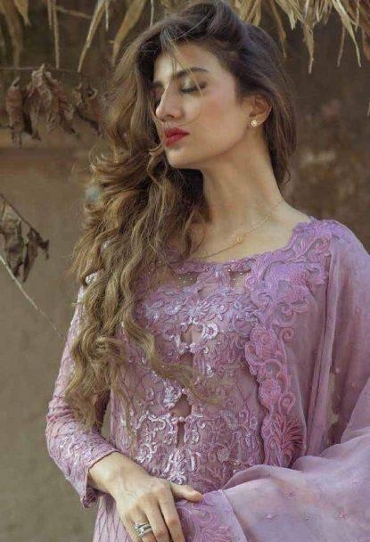 Rozina Munib Embroidered Chiffon Collection 06