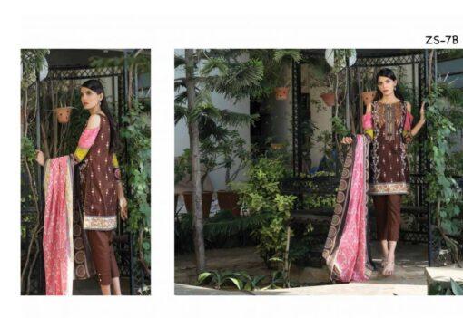 Sahil Designer Embroidered Cotton Collection Vol 14 07B