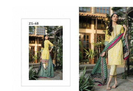 Sahil Designer Embroidered Cotton Collection Vol 14 06B