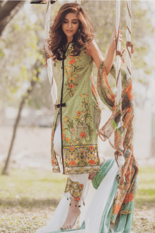 Rang Rasiya Premium Lawn Collection 2018 GATSBY BALLOON 7A