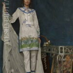 Ayesha Chottani Designer Embroidered Lawn Collection 2018 ST-8A