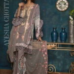 Ayesha Chottani Designer Embroidered Lawn Collection 2018 ST-9A