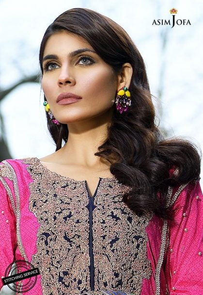 Asim Jofa Luxury Lawn Collection 2018 03A