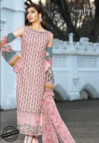Asim Jofa Luxury Lawn Collection 2018 05Bim