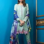 Al Dawood Satin Stiches Exclusive Embroidered Collection 2018 04