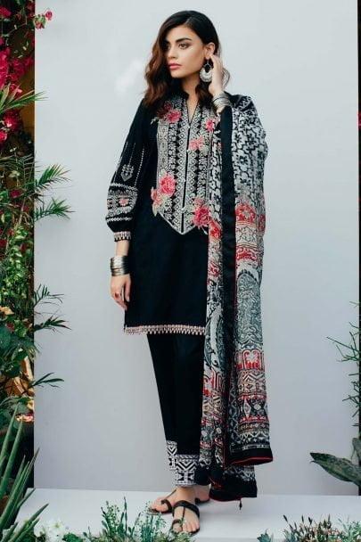 Zara Shahjahan Luxury Lawn TEHZEEB 08-B