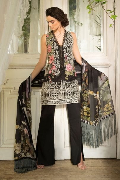 Sobia Nazir Luxury Lawn 2018 11A