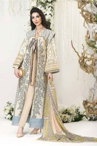 Zarqash Designer Lawn 2018 02B