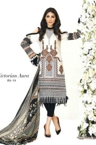 Zarqash Designer Lawn 2018 04A