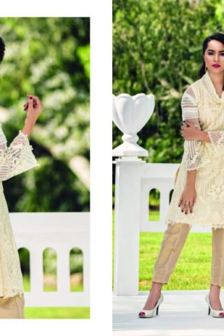 Azure Luxury Embroidered Festive Kurti Collection 2018 02