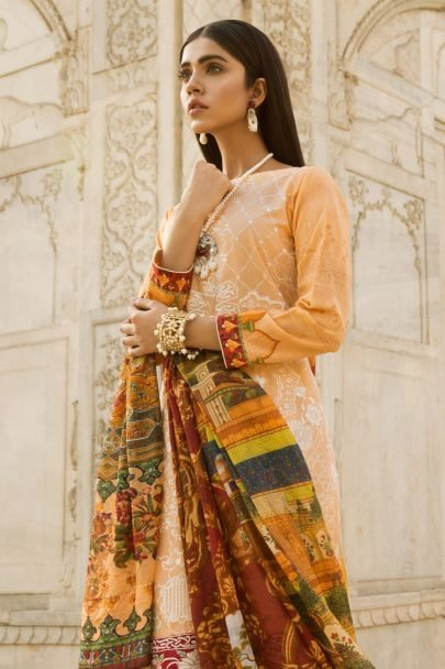 Qalamkar Luxury Festive Collection 2018 Negar 03