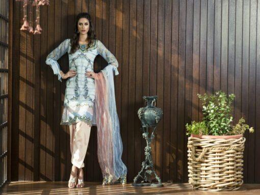 Aamna Aqeel Luxury Silk Festive Collection 2018 02