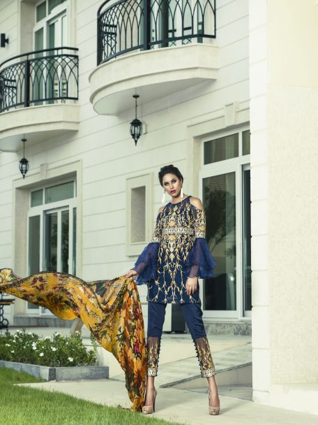 Aamna Aqeel Luxury Silk Festive Collection 2018 04