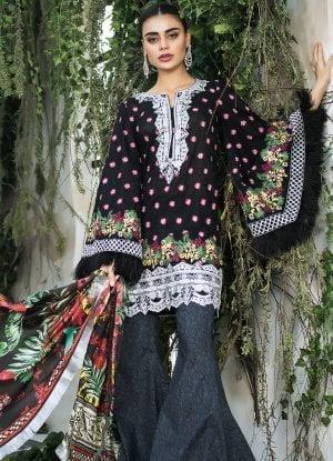 Maheen Karim Luxury Lawn Collection 2018 03