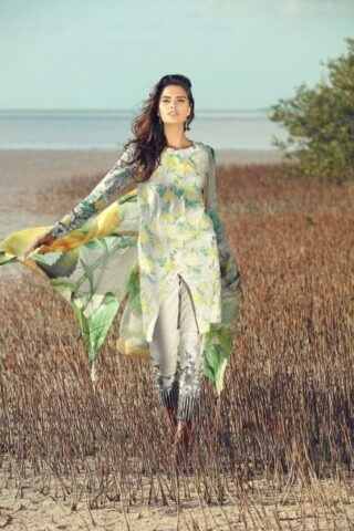 Rungrez Festive Lawn Collection 2018 04