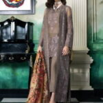 Honey Waqar Luxury Chiffon Collection 2018 Heure Exquise 10