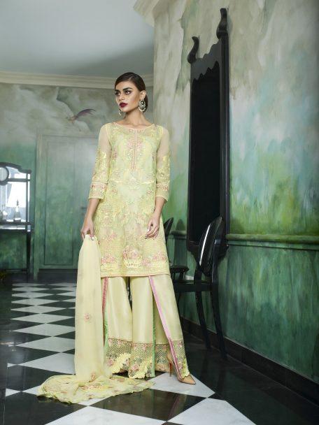 Honey Waqar Luxury Chiffon Collection 2018 La Violette 09