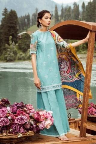 Zara Shahjahan Luxury Lawn Collection Vol 2 2018 05