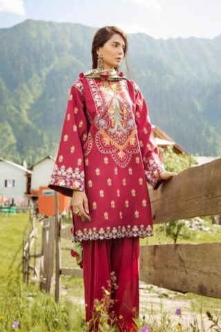 Zara Shahjahan Luxury Lawn Collection Vol 2 2018 06
