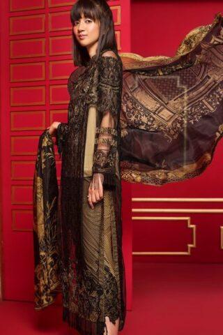 Ittehad Dastaan Luxury Lawn Collection 2018 Silent Night