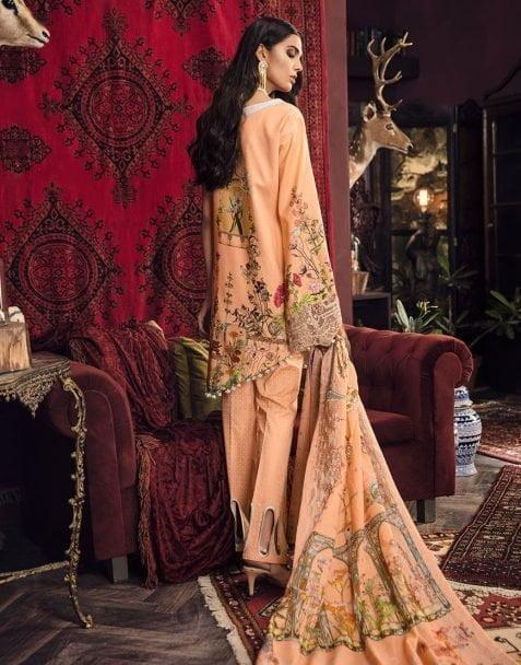 Zinnia Luxury Linen Collection 2018 2038B