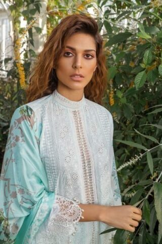 SOBIA NAZIR LUXURY LAWN COLLECTION 2019 10A