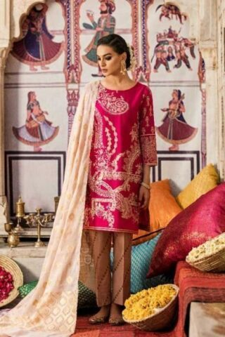 IZNIK FESTIVE LAWN COLLECTION 2019 05 GULABI ZARKOON