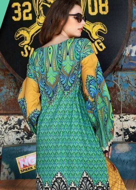 LSM Kurtis Embroidered Unstitched Collection 2018 02