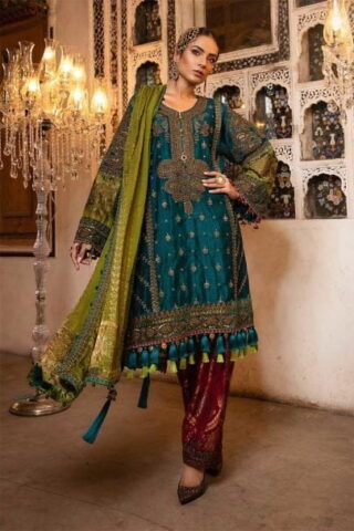 maria_b_unstitched_mbroidered_bd_1706_teal_green_deep_ruby_01