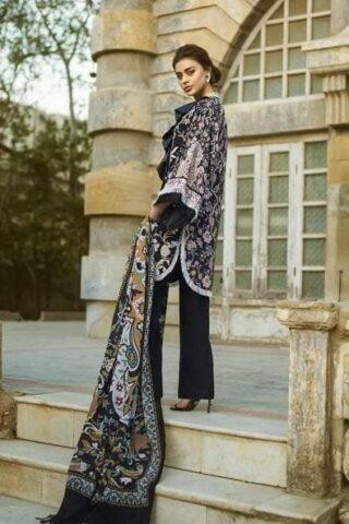 Tena Durrani Winter Shawl Collection by ALZOHAIB - TD 04B-2