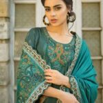 Tena Durrani Winter Shawl Collection by ALZOHAIB – TD 05-3