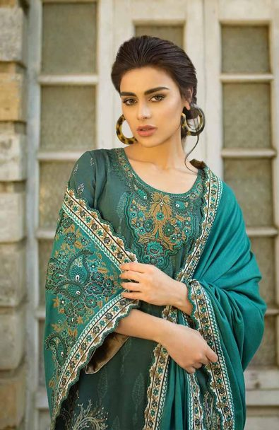 Tena Durrani Winter Shawl Collection by ALZOHAIB - TD 05-3