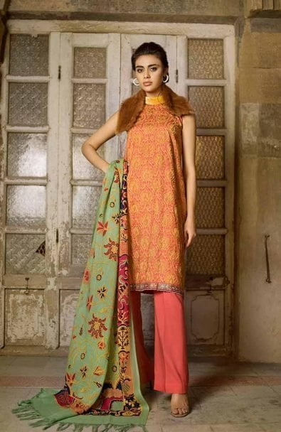 Tena Durrani Winter Shawl Collection by ALZOHAIB - TD 06A-1