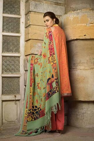 Tena Durrani Winter Shawl Collection by ALZOHAIB - TD 06A-2
