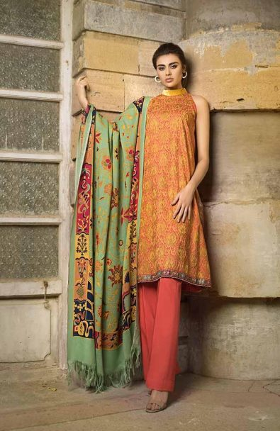 Tena Durrani Winter Shawl Collection by ALZOHAIB - TD 06A-3