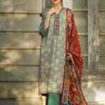Tena Durrani Winter Shawl Collection by ALZOHAIB - TD 06B-1
