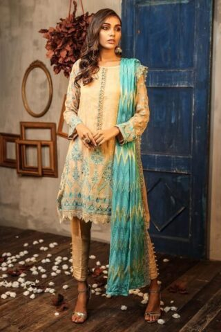 LSM Daastan Embroidered Formal Collection 2019 DE-9902