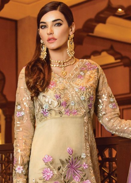 Serene Premium Embroidered Chiffon Festive Collection 2019 03 Mysterious Enchantress