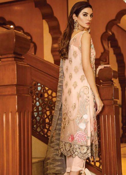 Serene Premium Embroidered Chiffon Festive Collection 2019 10 Socialite's Fantasy