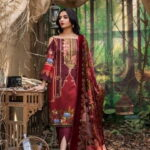 Maira Ahsan Embroidered Linen Palachi Collection 01a