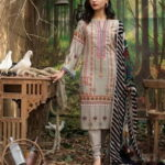 Maira Ahsan Embroidered Linen Palachi Collection 2020 - Winter Collection MAP19-02