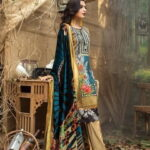 Maira Ahsan Embroidered Linen Palachi Collection 03b