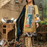 Maira Ahsan Embroidered Linen Palachi Collection 03a