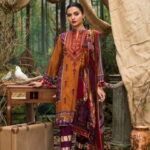 Maira Ahsan Embroidered Linen Palachi Collection 09b