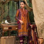 Maira Ahsan Embroidered Linen Palachi Collection 09a