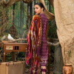 Maira Ahsan Embroidered Linen Palachi Collection 09c